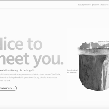 Website-Texte presono