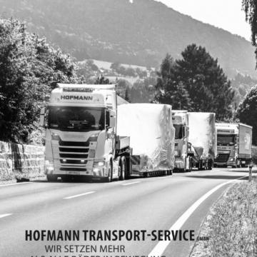 Broschüren-Text für Hofmann Transporte